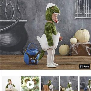 Pottery Barn Kids Halloween Costume Dinosaur